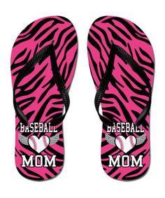 0f3713fb27391 Look what I found on  zulily! Hot Pink  amp  Black Zebra  Baseball