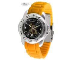 The Sport AnoChrome Long Beach State 49ers Watch is available in a Mens style. Showcases the 49ers logo. Color-coordinated silicone band Free Shipping. Visit SportsFansPlus.com for Details.