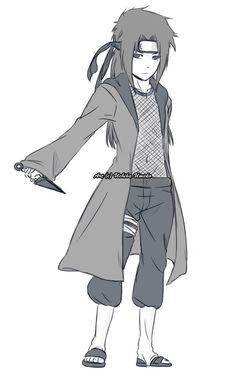 Sasuke's son Kid Naruto, Naruto Fan Art, Naruto Funny, Naruto And Sasuke, Naruto Shippuden Anime, Anime Naruto, Boruto, Naruto Clans, Ninja Outfit