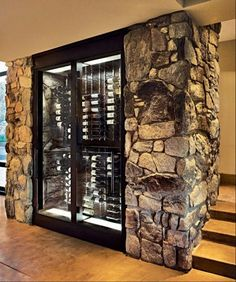 Own a wine cellar. It doesn't have to be as big as some of the other samples I've seen here on Pinterest. I'll throw in some craft beers in there as well.:D