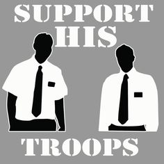 Support His Troops  Car Window Decal Sticker by MissionarySupport, $4.95