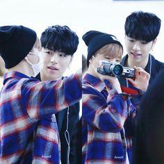 Jinhwan & Junhoe #BTS #Junhwan