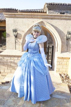 The beautiful Cinderella of Fairytale Events!  Invite her to your next princess party in Arizona!  #disneyprincess #cinderella #princessparty #arizona