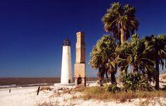 Cape St. George Lighthouse, Florida at Lighthousefriends.com