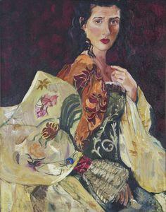 Elina Mona Lisa, Paintings, Artwork, Work Of Art, Paint, Auguste Rodin Artwork, Painting Art, Painting, Portrait