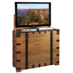 Steamer TV Lift Cabinet by TVLiftCabinet.com
