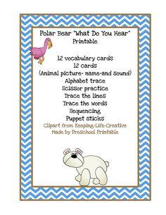 Polar Bear, What Do You Hear?