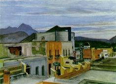 Edward Hopper (1882-1967, USA) | el Palacio
