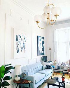 A small, yet truly inspiring studio apartment! | my scandinavian home | Bloglovin'