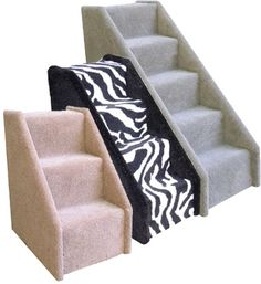 Cat Stairs & Steps, Pet Ramps and Carpeted Steps