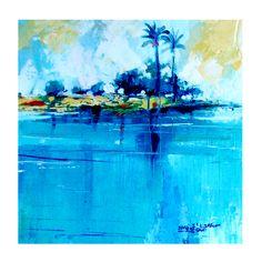 Oil colours 16x16 cm
