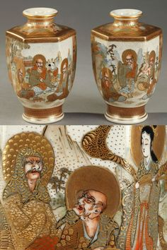 Antiques Honesty Distressed Roman Art Glass Bottle Ewers And Vases With Applied Clay Buy Now