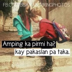 Gugma way sama Bisaya Quotes, Tagalog Quotes, Quotable Quotes, Qoutes, Hugot Quotes, It Hurts, Wisdom, Humor, Words