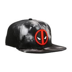 Marvel Deadpool Cloud Wash Snapback Hat  b5fc2867675c