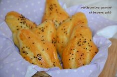 petit pains beurre salé 1 Beignets, Scones, Pizza, Side Dishes, Bakery, Recipies, Veggies, Cooking, Desserts