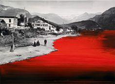 Styx (Oil on canvas. 60 x 80 cm. 2012)