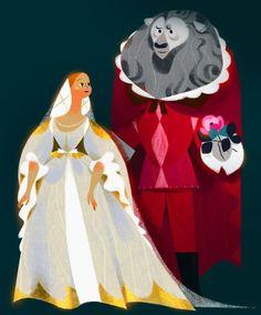 Annette Marnat La belle & la Bete - Flammarion Ed. Character Concept, Character Art, Concept Art, Children's Book Illustration, Character Illustration, Beauty And The Beast Art, Art Disney, Moe Anime, Guache
