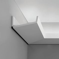 """C352 Crown Molding for Indirect Lighting. Face: 6-11/16"""" Length: 78-3/4"""" ____________________________ Request Your FREE Catalog: http://form.outwater.com/oracusa.php"""