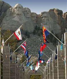 -Mount Rushmore in the Black Hills of South Dakota.