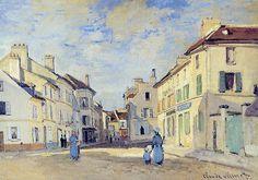 L'Ancienne Rue de la Chaussée, Argenteuil (C Monet - W 239…   Flickr