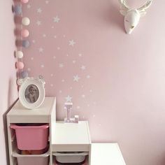 White little star wall stickers by nicolasito.es