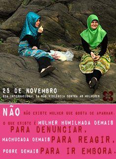 25 de novemrbo - Dia Internacional da Não Violência contra as Mulheres