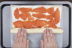 Tämä resepti leviää kulovalkean tavoin – kylmäsavulohella täytetty pizzarulla – Herkkusuu.fi