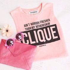 Clique tee