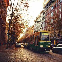 City green transport! #Helsinki #Finland