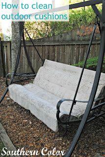 Things That Make You Go Hmmmm | Pinterest | Cleaning Outdoor Cushions, Outdoor  Cushions And Cleanu2026