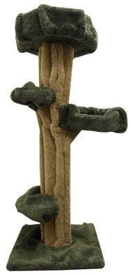 Wooden Large Cat Tee Sculpture Cat Tower -- To view further for this item, visit the image link.