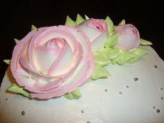 1.3. Очень просто. Розы из крема - YouTube