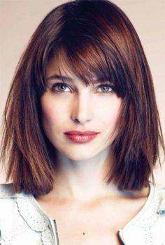 What is the Best Cut for Straight Hair and a Square Face? | Beautyeditor