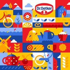Dr. Oetker Contest Illustration on Behance