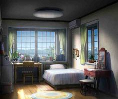 Orange Scenery Visual - Naho Room 001 - 20160524 - Anime Herald
