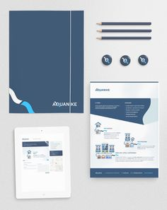 AQUANKE   Beautiful examples of full branding packages. It is amazing what a bold and consistent image can do for ones marketing and advertising.    Transition Marketing Services | Okanagan Small Business Branding & Marketing Solutions  http://www.transitionmarketing.ca