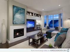 20 Gorgeous Living Room Furniture Arrangements   Home Design Lover