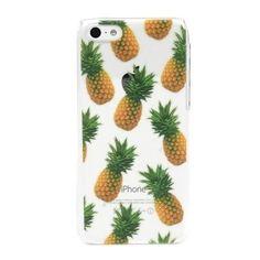 skinnydip パイナップル 国内発送 iphoneケース 5s 5 クリア ケース コーデの画像   海外セレブ愛用 ファッション先取り ! iphone5sケース iph…