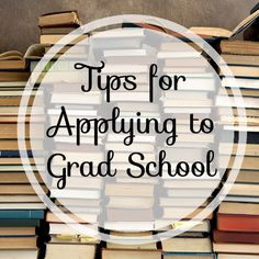 Applying to Grad School