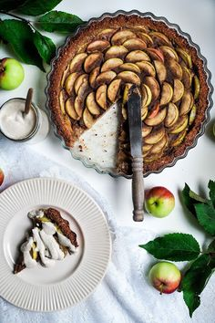 Nutsforwellness - Helppo vegaaninen omenpiirakka (gluteeniton)