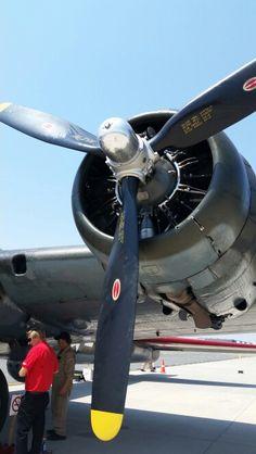 B-17  PORT SIDE ENGINE