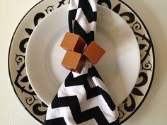 Copper Skewb Napkin Rings Tutorial - #diy, #napkinring