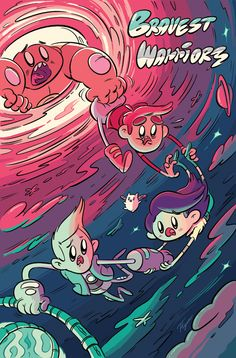 """mtvgeek:    Here comes """"Bravest Warriors!"""" witha BOOM!  (via MTV Geek - The Daily Geek: New York Comic-Con Edition - Day 1)    Thanks MTV Geek for the shout out!  Check out our sneak peek of Bravest Warriors animated series exclusively on Cartoon Hangover'sYouTubechannel."""