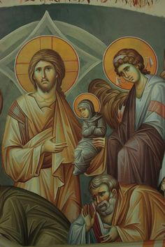 Byzantine Icons, Orthodox Icons, Jesus Christ, God, Painting, Dios, Painting Art, Paintings, Allah