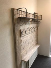 Home Decor Designs For Ideas Hallway Coat Rack, Hallway Storage, Coat And Shoe Storage, Decoration Palette, House Flippers, House Games, Hall Furniture, Small Entryways, Building For Kids