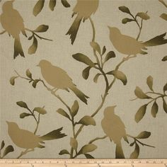 Rockin Robin Driftwood Fabric By The Yard Magnolia Home