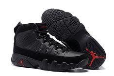 "c34cc1683892b5 Air Jordan 9 ""Bred"" Black Anthracite-University Red 302370-014"