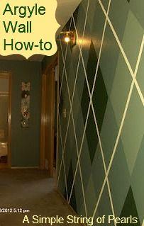 Argyle Wall instructions