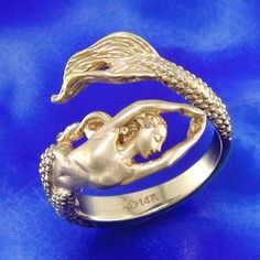 mermaid weathervane | SD-MR005 14K Mermaid Ring :: Mermaids :: Steven Douglas :: Jewelry ...