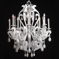 Modern White Chandeliers 2017 - New Clear Chandeliers 2017 Pink Chandelier, Chandelier Lighting, Porch Lighting, Cool Lighting, Lighting Ideas, Lustre Rose, Paper Floor Lamp, Cottage Nursery, Lantern Lamp